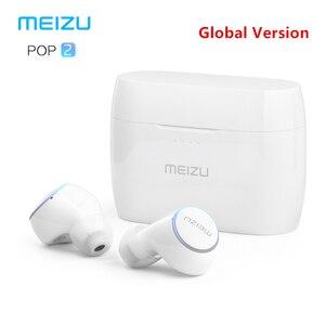 Image 1 - מקורי Meizu פופ 2 Bluetooth 5.0 אוזניות משודרג גרסה אלחוטי ספורט אוזניות IP5X עמיד למים עבור iPhone Xiaomi Meizu