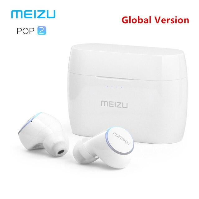 מקורי Meizu פופ 2 Bluetooth 5.0 אוזניות משודרג גרסה אלחוטי ספורט אוזניות IP5X עמיד למים עבור iPhone Xiaomi Meizu