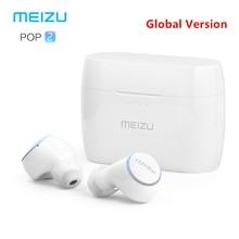 Оригинал, Meizu POP 2, Bluetooth 5,0, наушники, улучшенная версия, беспроводная спортивная Гарнитура, IP5X, водонепроницаемая, для iPhone, Xiaomi, Meizu
