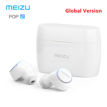 Original Meizu POP 2 Bluetooth 5.0 หูฟังรุ่นที่ได้รับการอัพเกรด Wireless กีฬาชุดหูฟัง IP5X กันน้ำสำหรับ iPhone Xiaomi Meizu