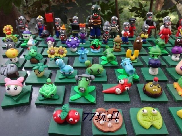 d22d75eca785ea 67 stks partij Gratis Verzending Plants vs Zombies pvc action figures PVZ  poppen speelgoed