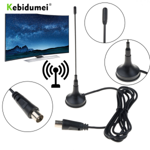 Kebidumei DVB-T/T2 5DBi Indoor Antenna Mini TV Antenna Aerial Digital For DVB-T TV HDTV Easy To Install