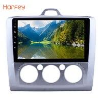 Harfey автомобиля радио 9 дюймов Bluetooth стерео Мультимедийный плеер авторадио для 2004 2011 Ford Focus Exi MT Сенсорный экран авто радио