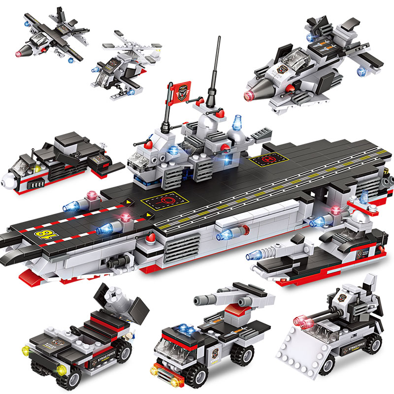 navio de guerra aeronaves transportar tijolos 02