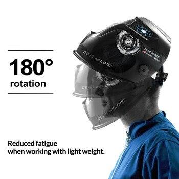 Auto Darkening Adjustable Range Electric Welding Mask 4/9-13 MIG MMA Helmet Lens for Welding Machine 1