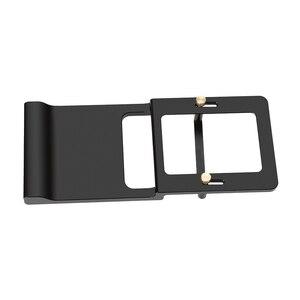 Image 2 - Handheld Gimbal Adapter Switch Mount Plate for GoPro Hero 7 6 5 4 3 for Xiaoyi 1 Yi for DJI Osmo Zhiyun Smooth Q Mobile