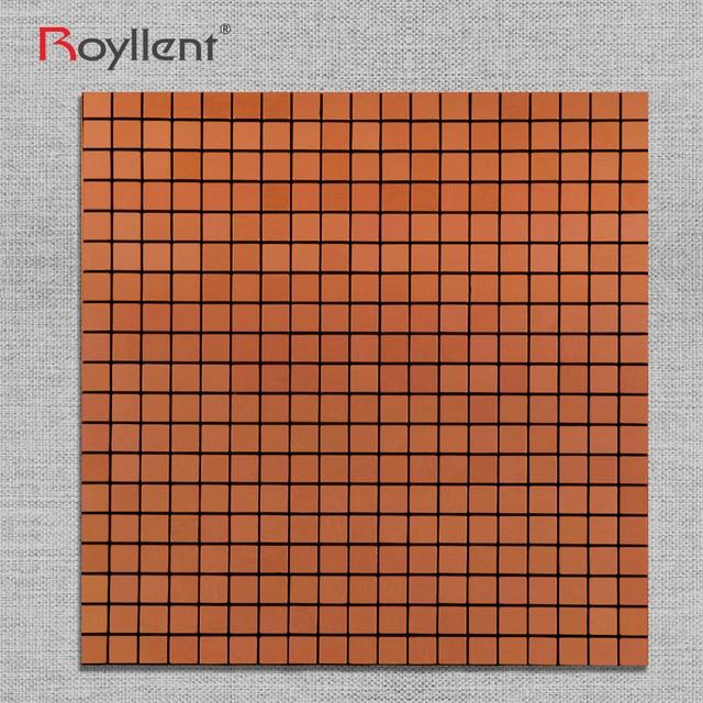 Royllent ACP Metal Wallsticker Brick Red Mosaic Home DecorInterior ...