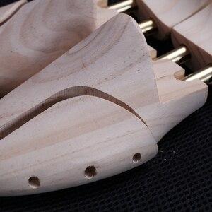Image 2 - Мужская обувь из сосны, металлическая ручка, регулируемая длина и ширина обуви