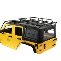 Hohe Qualität Matal1/10 RC Gepäckträger für 1/10 AXIAL SCX10 JEEP Rock Crawler RC Auto