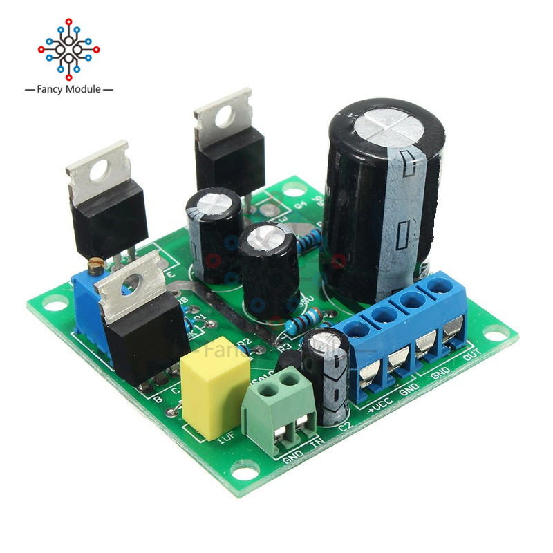 Mini TIP41C 1 CH Mono Channel Amplifier Assemble Board Pure Class A Sealed Multi-turn Adjustable Resistor New Boards Module
