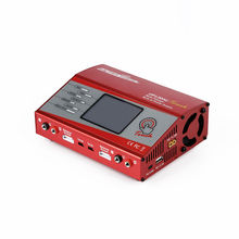 RCmall NEW Charger LCD Contact Display screen Digital RC Lipo NiMh UP120AC 110V/240V AC Twin Output Stability for UltraPower