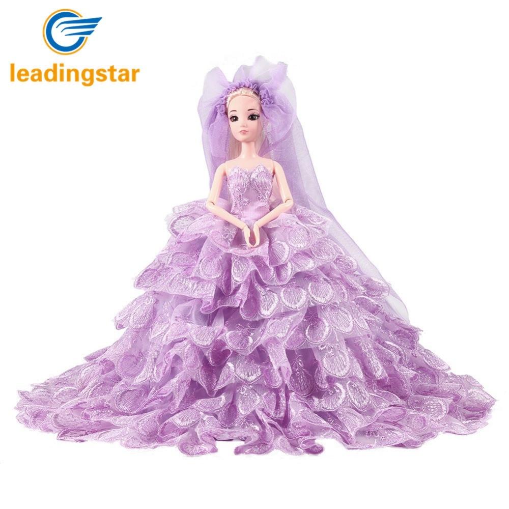 LeadingStar Elegante Hochzeitskleid Schöne Party Kleid und Schleier ...