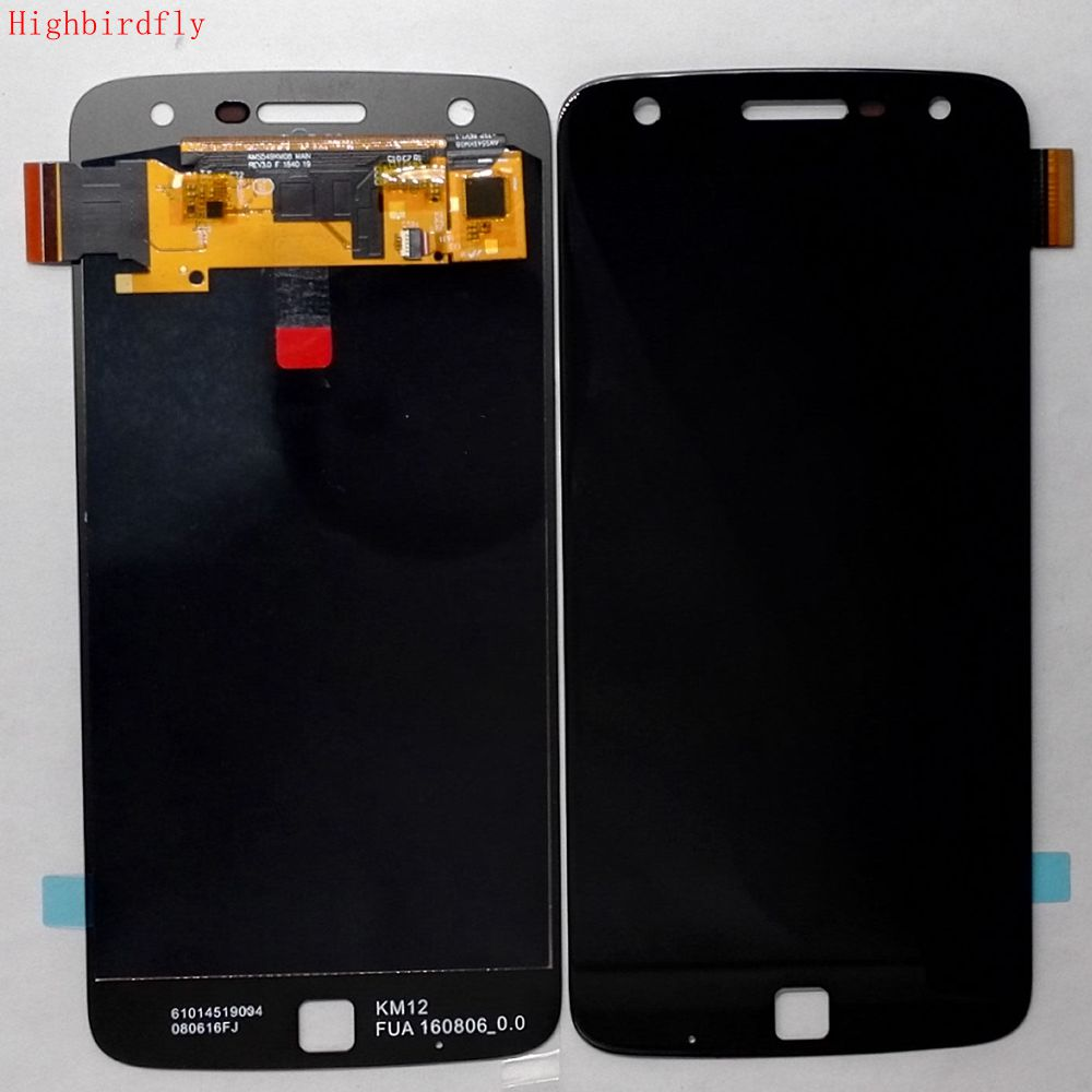 Oled For Motorola Moto Z Play <font><b>Xt1635</b></font> <font><b>Xt1635</b></font>-02 <font><b>Xt1635</b></font>-03 Lcd Screen Display+Touch Glass DIgitizer Assembly Repair Parts image