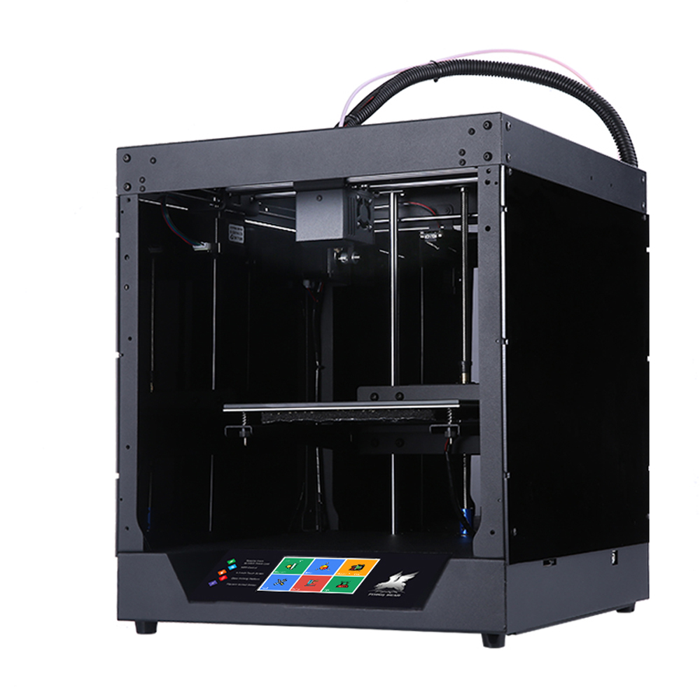 2019 Popolare Flyingbear-Fantasma 3d Stampante full frame in metallo 3d kit stampante con Touchscreen A Colori