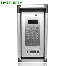 200 Kamers Rfid 13.56Mhz & Gsm/3G Quad Band Audio Deur Poort Intercom Gsm Residentiële Gate Access entry Appartement Controller