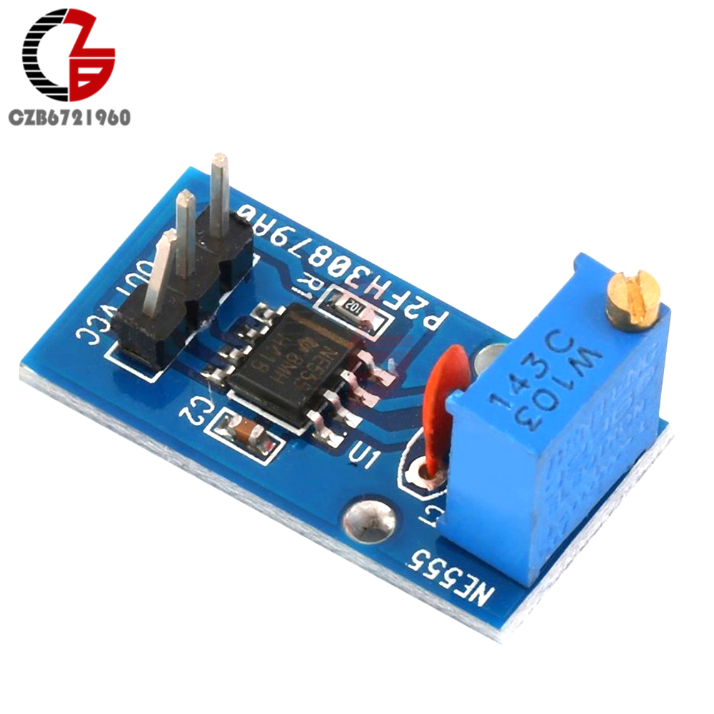 50pcs Lot New Ne555 Ne555p 555 Timers Dip 8 Texas A041 In Ic High Quality Integrated Circuit Ne555n Precision Us 033 455 959 Orders 2pcs Adjustable Frequency Pulse Generator Module For Arduino Smart Car