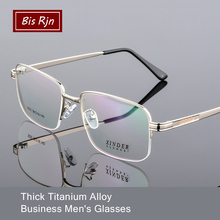 man Optical Eyeglasses Frame Titanium Alloy Myopia glasses Frames Male Half Eyewear Spectacles Z3030