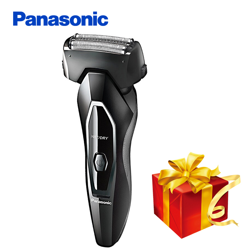 100% Original Panasonic Electric Shaver ES-FRT2 Rechargeable With Triple Blades Whole Body Wash For Men's Electric Razor philips electric shaver s330 rotary rechargeable and body wash design for men s flexible veneer system with retail package