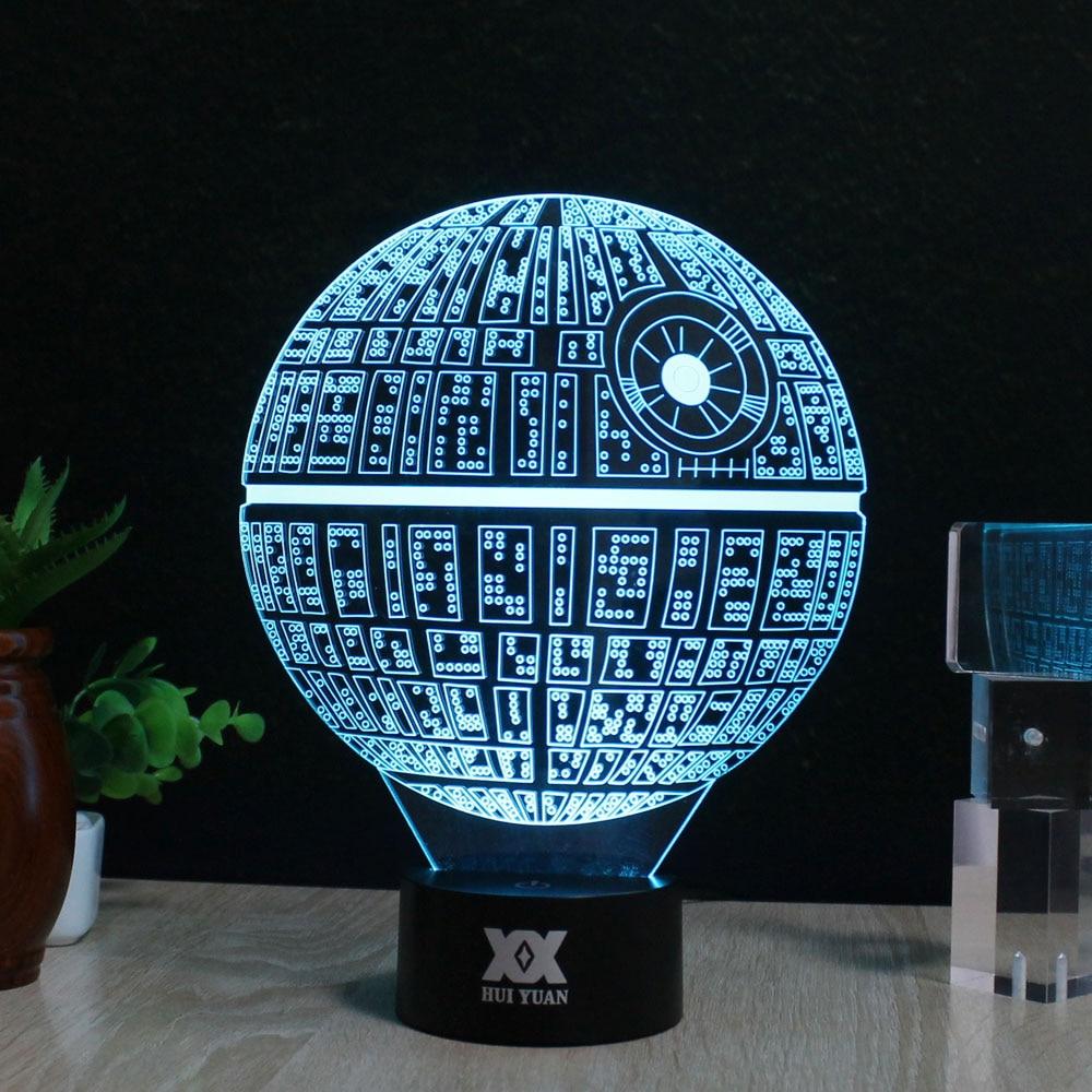 Star Wars BB-8 3D Lampe LED Neuheit Nachtlichter USB Urlaub Licht - Nachtlichter - Foto 5
