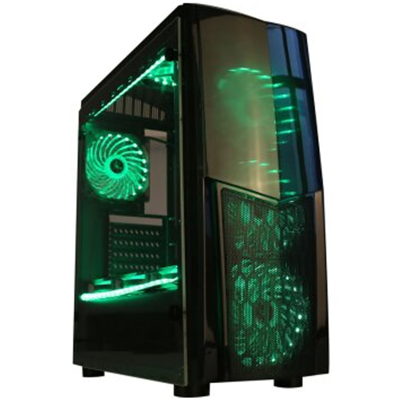 SAHARA / Sahara X5 water-cooled double-sided side through ATX main chassis Internet cafes desktop computer game chassis