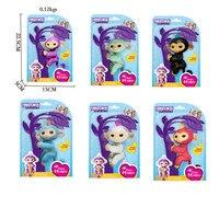 6 Color Fingerlings Baby Monkeys Smart Colorful Fingers Llings Smart Induction Toys Best Gifts For Kids