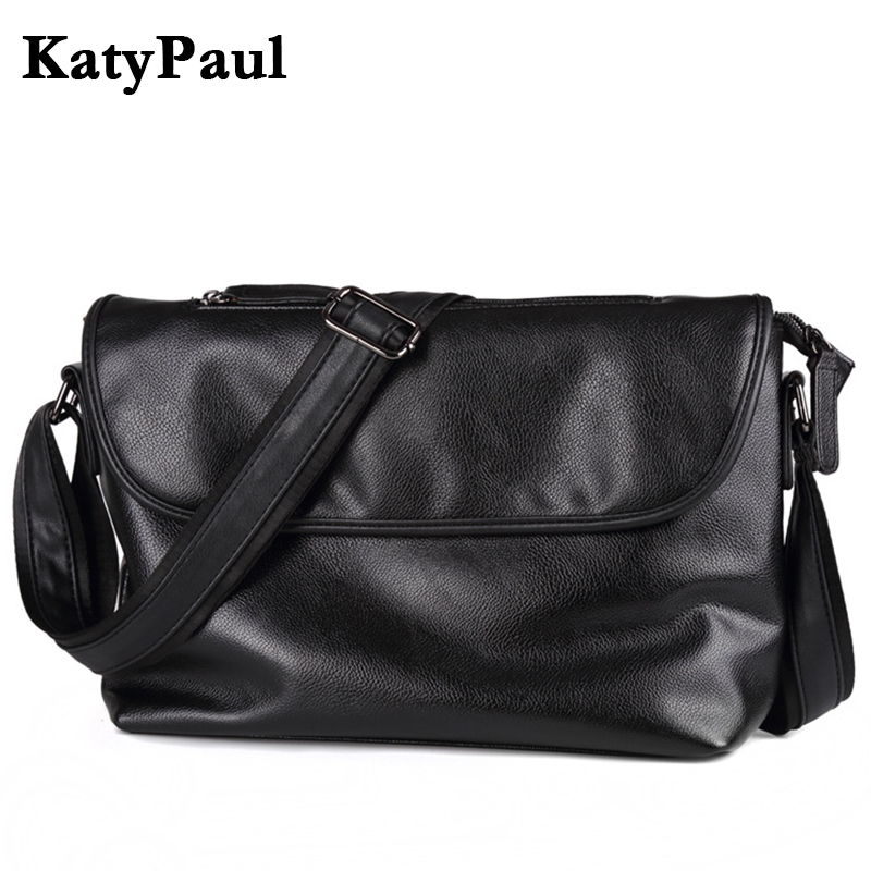 Men Bag Brand New Fashion Leather Men's Messenger Bags Business Briefcase Large Capacity Casual Crossbody Shoulder Bag For Man