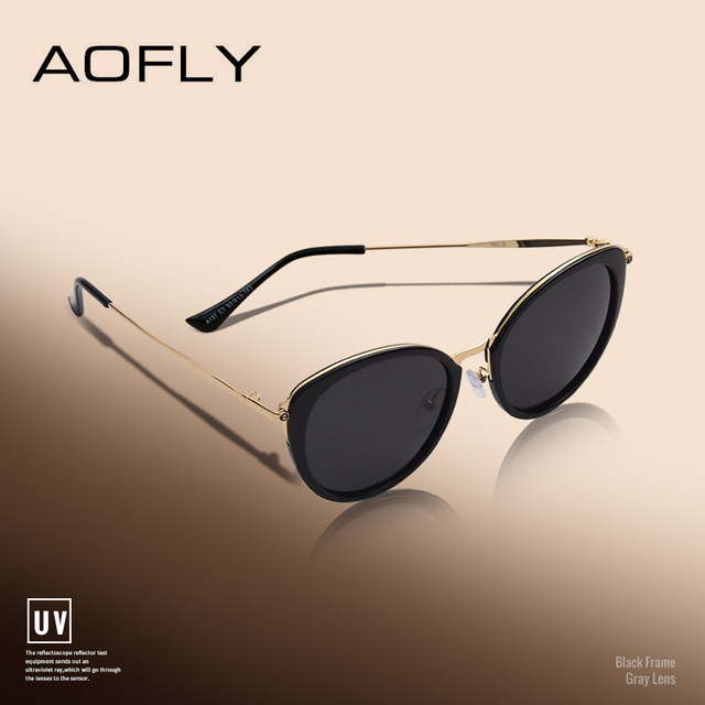 AOFLY BRAND DESIGN Polarized Sunglasses Women 2018 Fashion Ladies Cat Eye Sun Glasses Eyewear Gafas De Sol A131 1