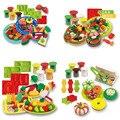 Novo criativo interativo cores argila playdough molde kits set das crianças diy brinquedos educativos