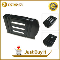 Motorcycle Parts CNC Edge Cut Brake Pedal Pad Cover Fits For Harley Electra Street Glide Touring