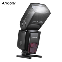 Andoer AD560 IV Đèn Flash Máy Ảnh 2.4G Không Dây Trên Camera Đèn Flash Speedlite Nhẹ GN50 Màn Hình Hiển Thị LCD Dành Cho Máy Ảnh Canon Nikon sony Máy Ảnh DSLR