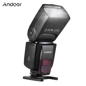 Image 1 - Andoer AD560 IV Đèn Flash Máy Ảnh 2.4G Không Dây Trên Camera Đèn Flash Speedlite Nhẹ GN50 Màn Hình Hiển Thị LCD Dành Cho Máy Ảnh Canon Nikon sony Máy Ảnh DSLR