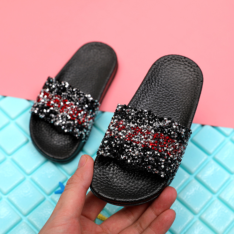 Toddler Baby Boys Girls Slippers Non-slip Flip Flops Kid Casual Beach Home Shoes