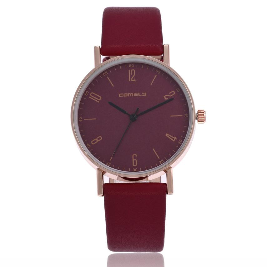 Top Brand Luxury Famous Quartz Watch Curren Watches Women Men Fashion Leather Band Analog Quartz Round Wrist Watch Watches 40p silver watches men women luxury brand famous quartz wrist watches for men leather waterproof business fashion casual dress watch