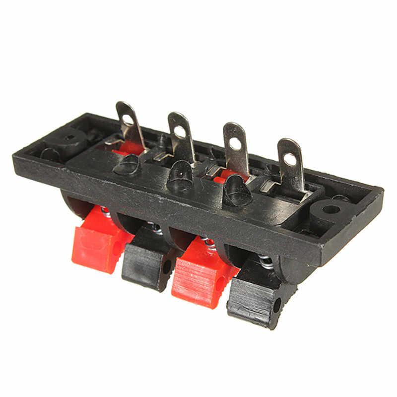Kroak автомобиля 4 способ AMP стерео Динамик Клеммник полосы нажать спусковую разъем блока