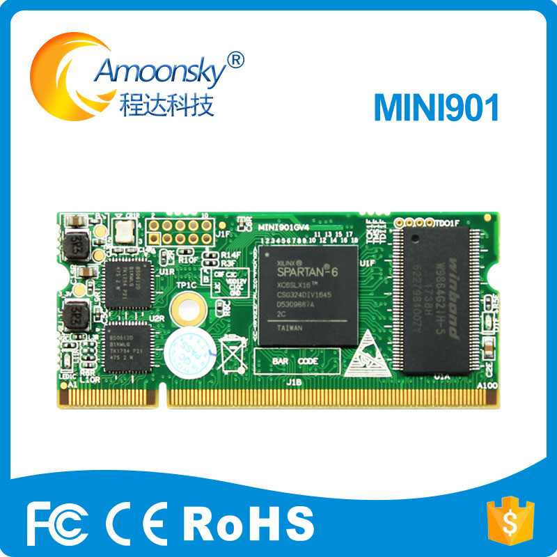 Linsn Mini901 Receiving Card High Refresh Rate Compare With Rv901t Rv901h Receiving Card Linsn Control System