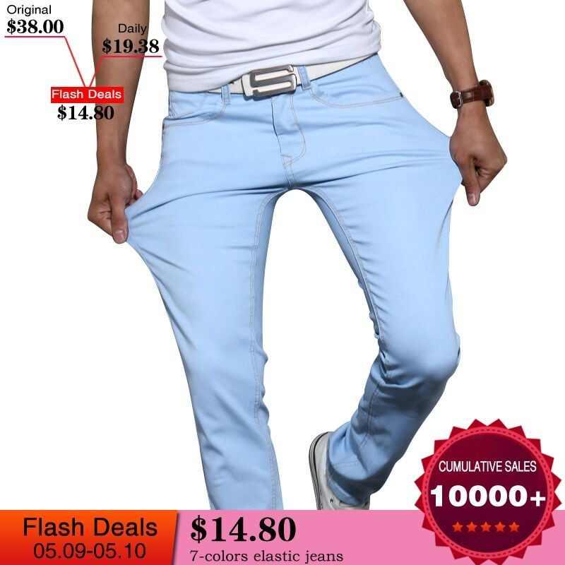4d03426865 Detalle Comentarios Preguntas sobre Pantalones Verano Hombre Jeans ...