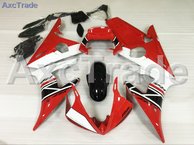 Motorcycle Fairings Kits For Yamaha YZF600 YZF 600 R6 YZF-R6 2003 2004 2005 03 04 05 ABS Injection Fairing Bodywork Kit Red A876 hot sales yzf600 r6 08 14 set for yamaha r6 fairing kit 2008 2014 red and white bodywork fairings injection molding