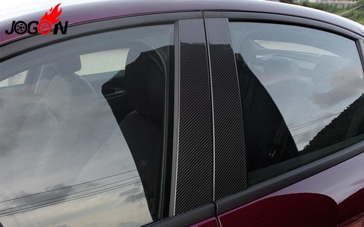 Window B+C Pillar Molding Trim Cover Sill For Alfa Romeo Giulia 2016 2017 2018