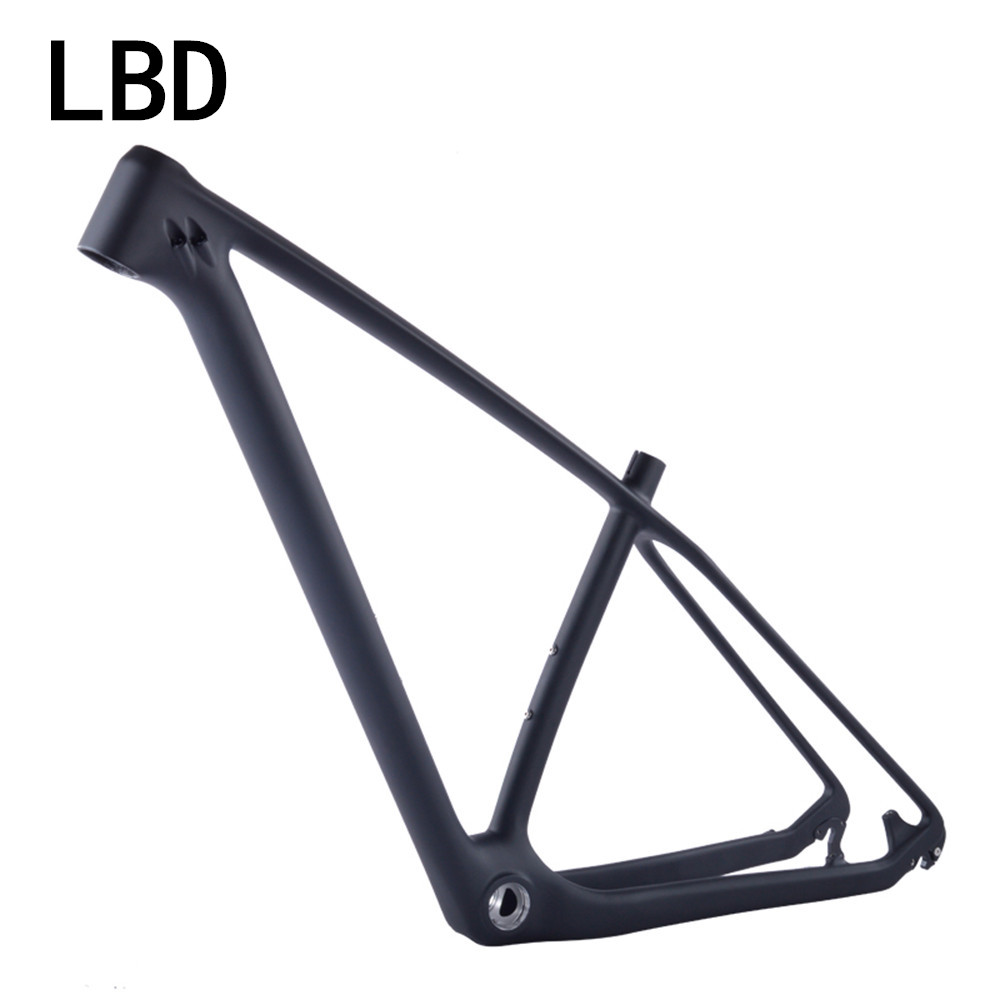 Free shipping Hot 27.5/29er chinese mtb carbon frames carbon mountain bike frameset 650B/29 carbon mountain frame 15/17/19inch 2017 mtb bicycle 29er carbon frame chinese mtb carbon frame 29er 27 5er carbon mountain bike frame 650b disc carbon mtb frame 29