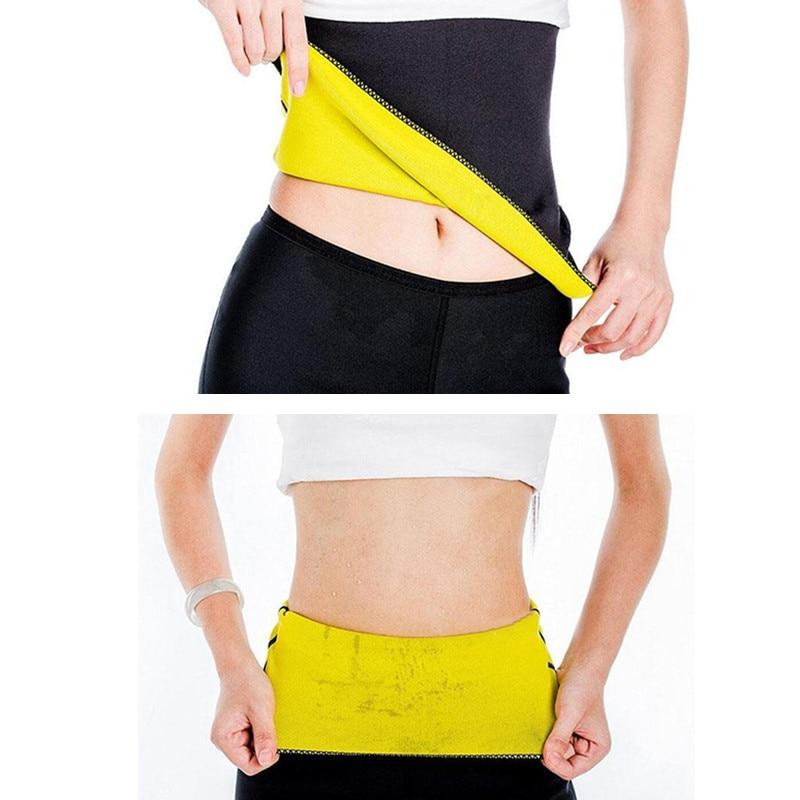 Hot Shapers Losing Weight Neoprene Waist Support Slimming Corset Body Shaper Modeling Strap Slimming Belt Shapewear Waist Guard