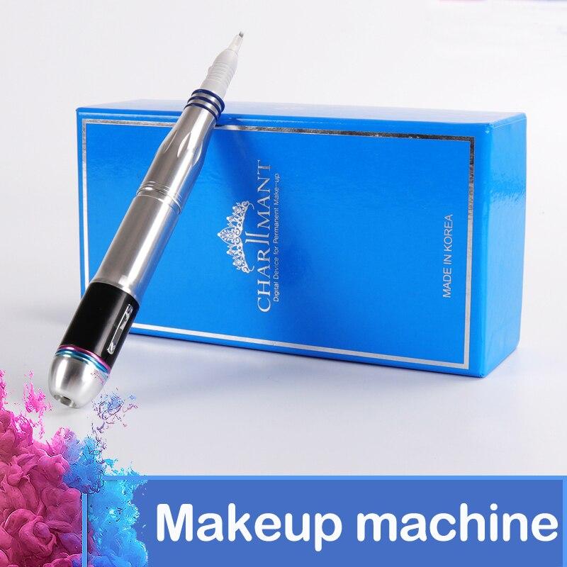 Tattoo Machine Electric Digital Charmant Permanent Makeup Pens Machine kits For Eyebrows Lips Body Tattoo Cosmetic