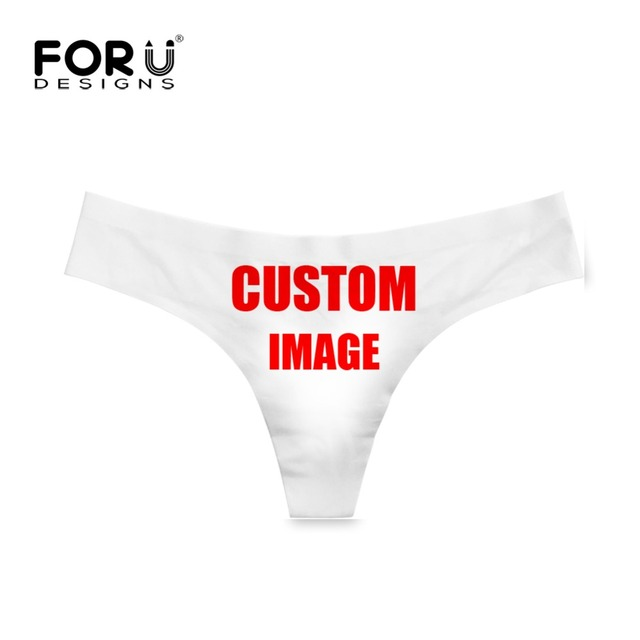 FORUDESIGNS Funny Fruit Cherry/Pineapple Pattern Womans Sexy G-strings Lady Seamless Briefs Panties Ultra-thin Thongs Plus Size 5