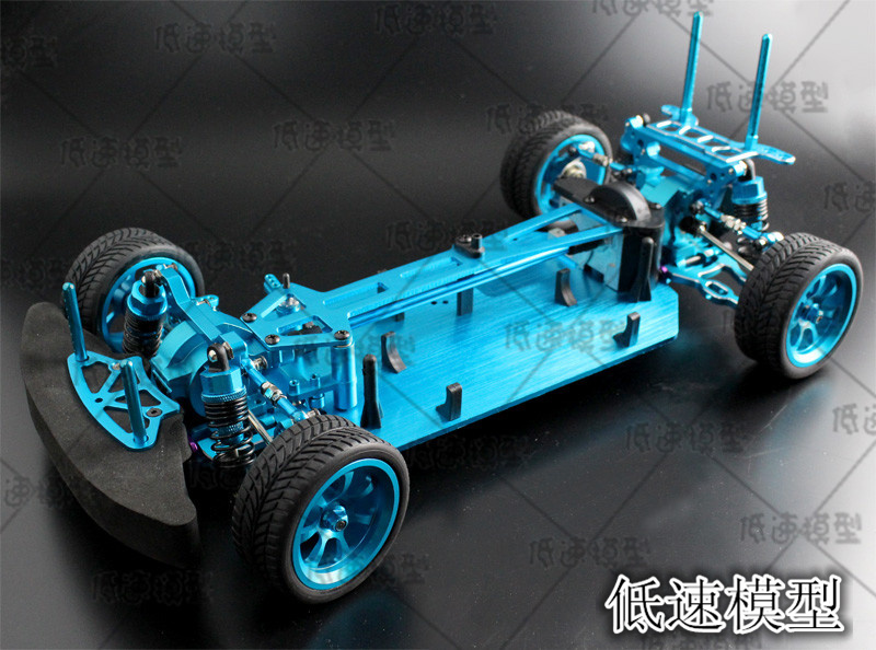 1 10 RC 4WD Model Toys Car On Road Drift Car Metal version of the Empty