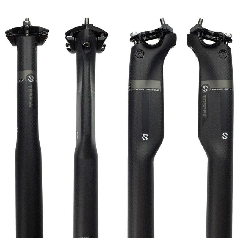 Carbon fiber 3K pattern High qulity  mountain bike road ride tube seatpost connector