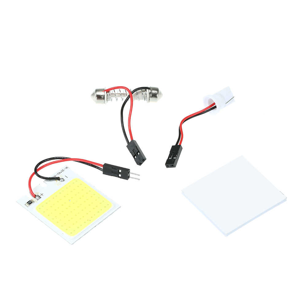 Auto Car Panel ledowy lampa kopułkowa wnętrze czytanie żarówka płaska sufitowa wewnętrzna lampa sufitowa