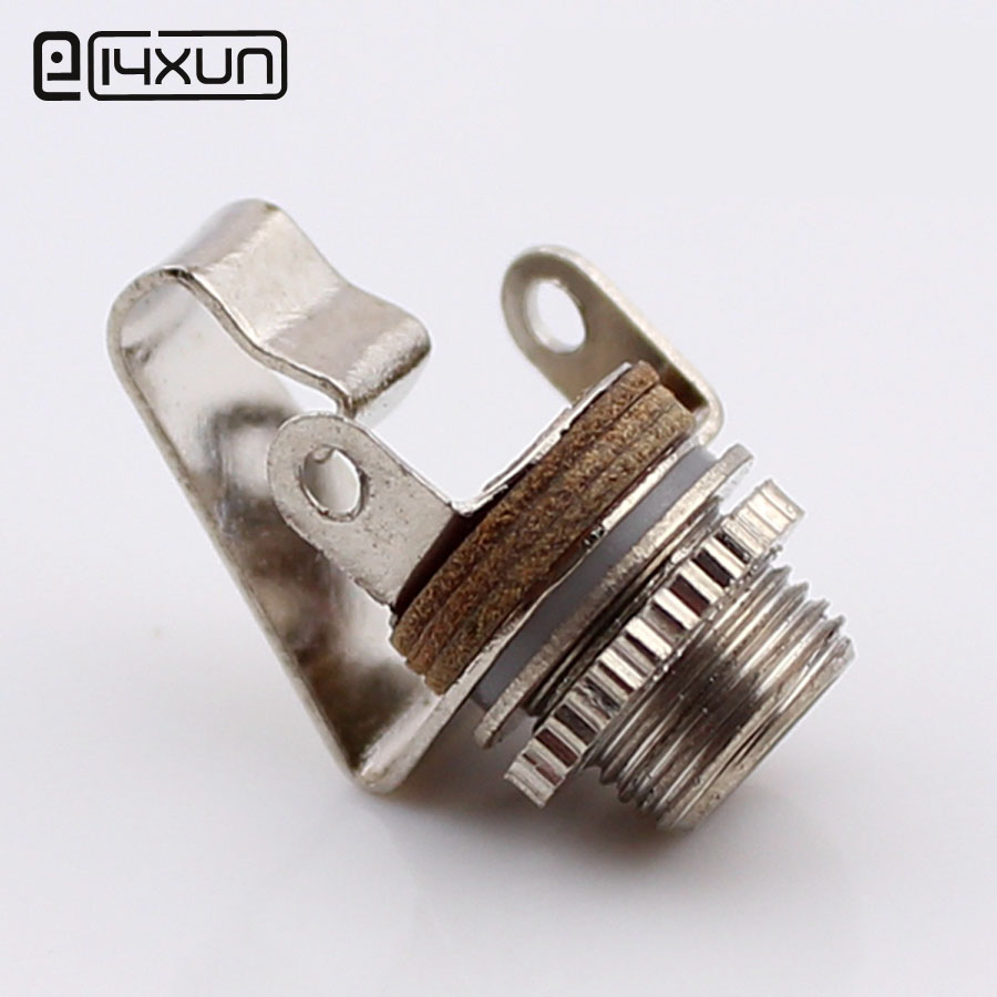 2pcs 3.5mm 2 Pole Mono Plug Jack Audio Female Connector 3.5 Mm Welding Type Panel Socket