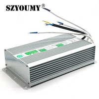 SZYOUMY DC 12V 200W Waterproof Electronic LED Driver Transformer Power Supply Outdoor IP67 Waterproof For Led Strip Lamp