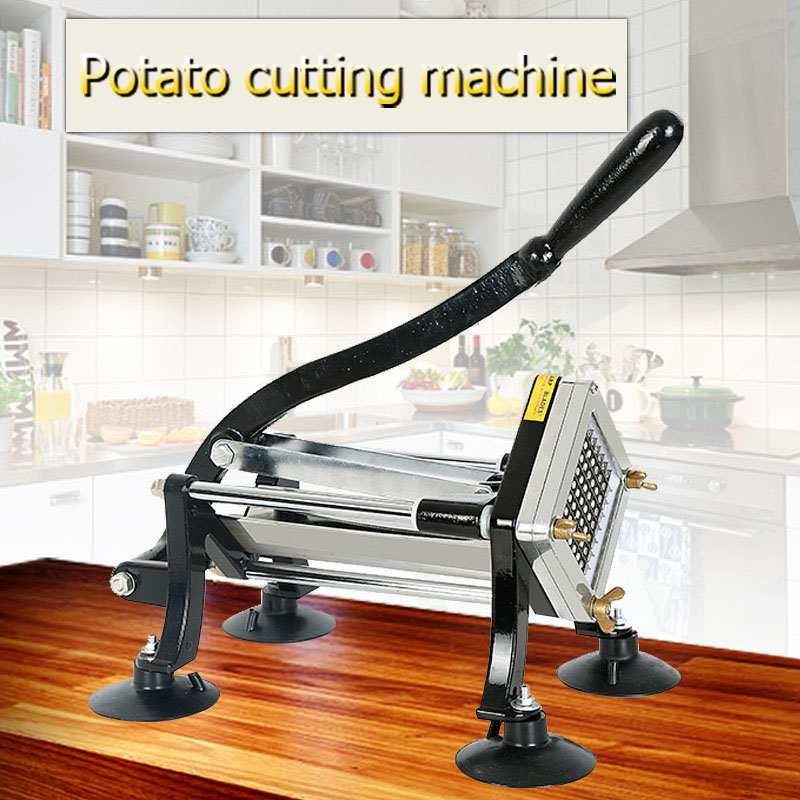 Potato Tornado Electric Potato Fries Cutting Machine Manual Slitter Restaurant Kitchen Chopper Stainless Steel Multifunction