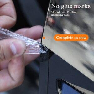 Image 4 - 5D Carbon Fiber Nano Glue Car Sticker Protector Film Door Edge Protective Car Trunk Door Sill Full Body Sticker Vinyl Accessory