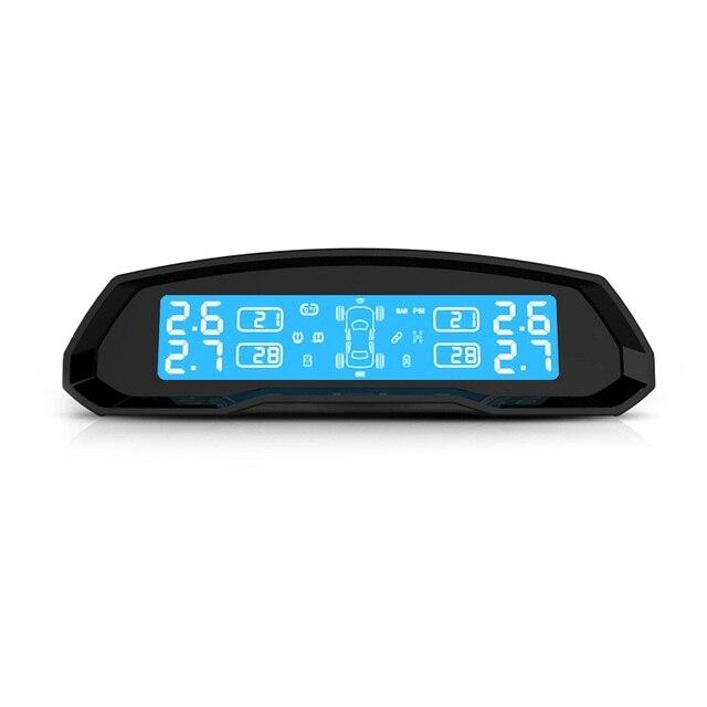 Горячий Продавать Беспроводной TPMS Давления в Шинах Monitor System С 4 Внутренних Датчиков Хорошее Качество Обеспечения Безопасности Вождения